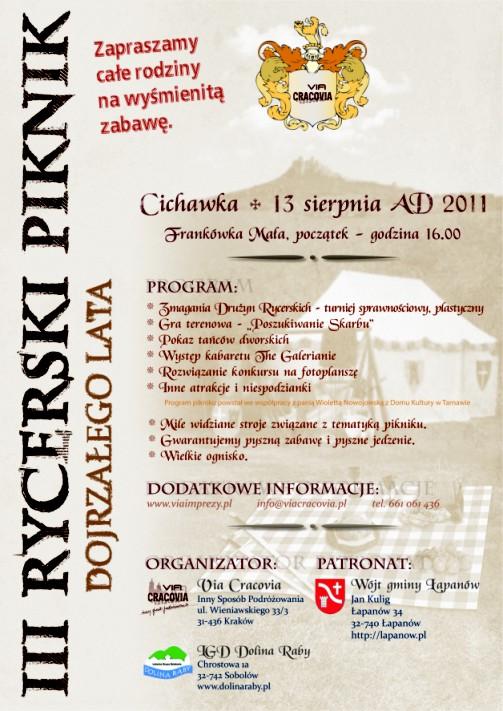 III Rycerski Piknik Dojrzałego Lata 2011-001