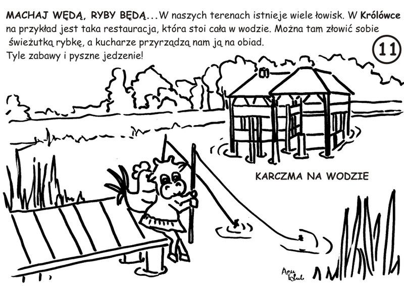 11. Karczma na Wodzie - kolorowanka