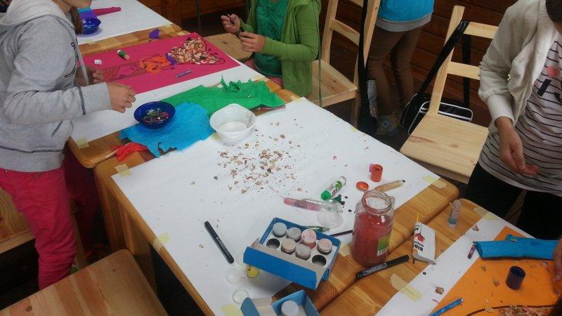 Dbamy o to, aby dzieciaki mogły spędzać czas kreatywnie.