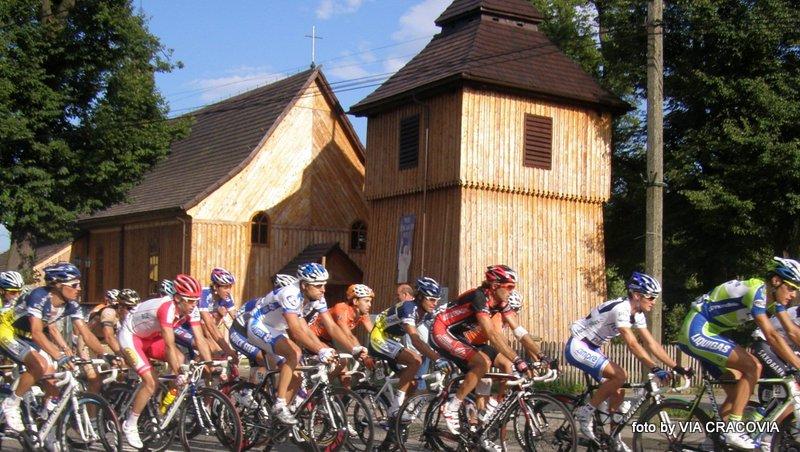 Tour de Pologne w Łapanowie
